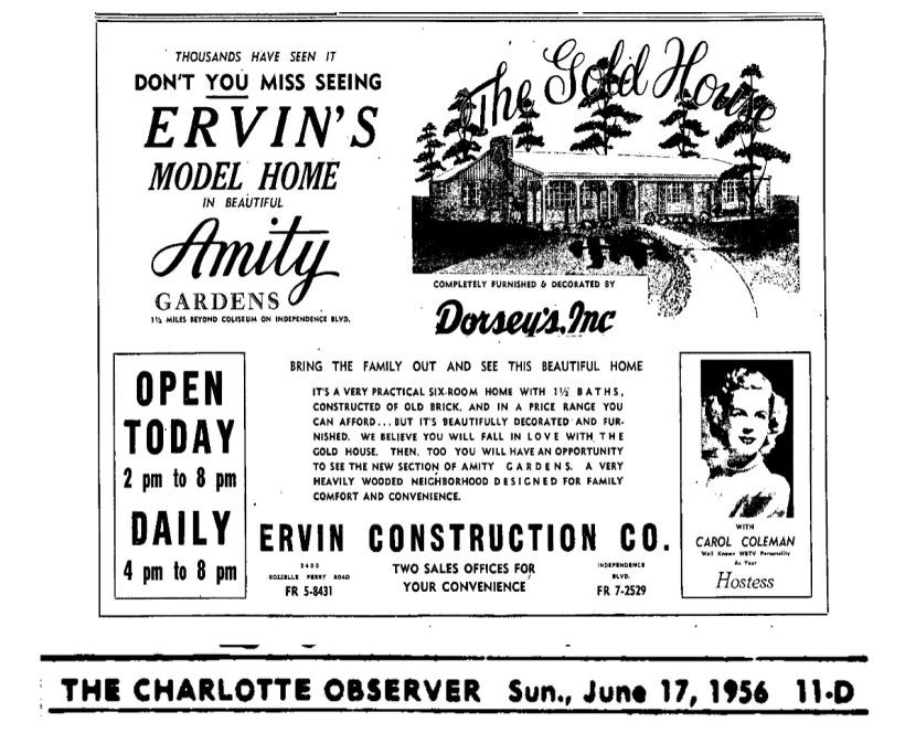 Amity Gardens 1956