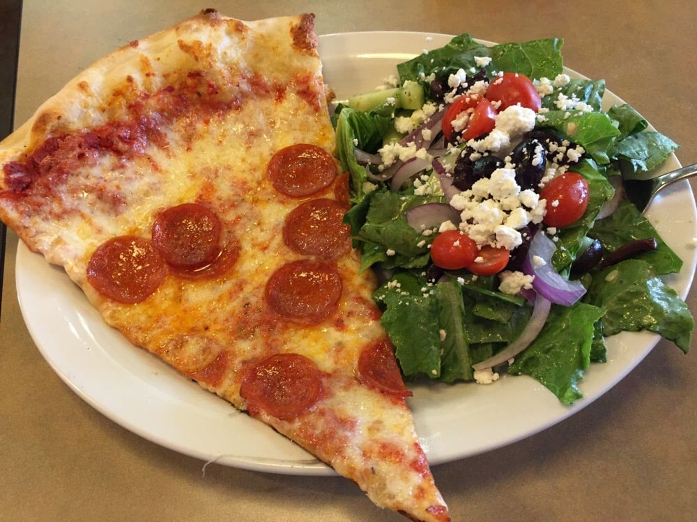 pizza and salad night