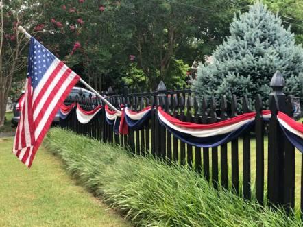 Flag Fence